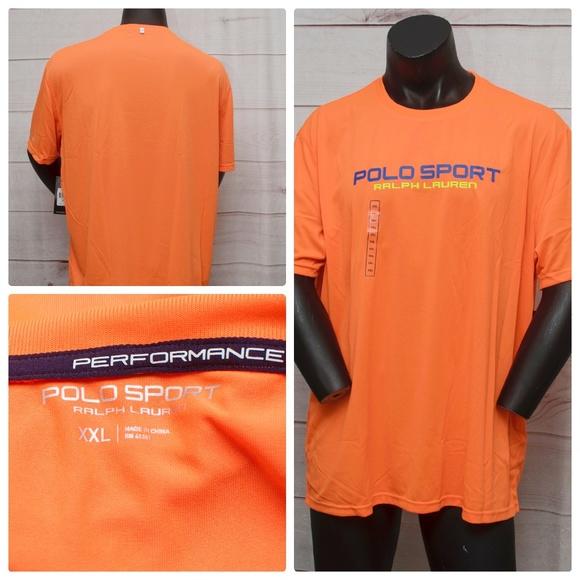 203e3ac7 Polo Sport Ralph Lauren Shirts | Orange Xxl Mens Tshirt | Poshmark